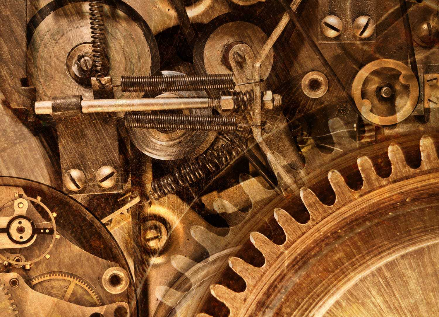 Photo of rustic gears
